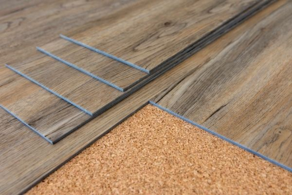Vinyl plank flooring is easy to clean and resistant to scratches